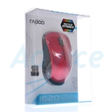 Wireless Optical Mouse RAPOO (MS1620-RD) Red
