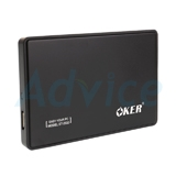 Enclosure 2.5'' SATA OKER 2532 USB 3.0 (Black)