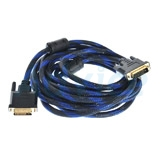 Cable Display DVI TO DVI 24+1 M/M (5M) สายถัก GLINK