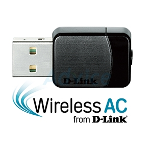 Wireless USB Adapter D-LINK (DWA-171) AC600 Dual Band
