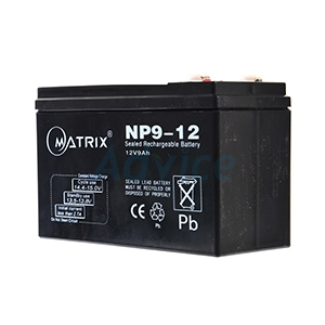 Battery 9Ah 12V Matrix