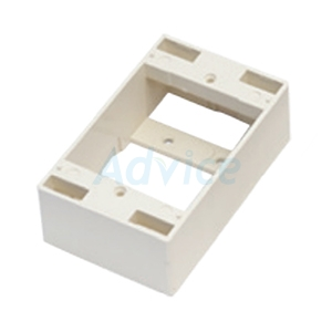 Wall Box 2x4 ลึก 38mm. LINK (US-2015WH) Original