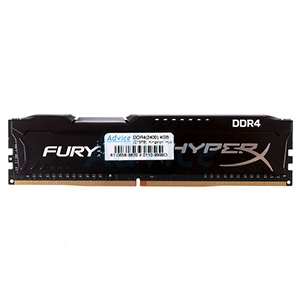 RAM DDR4(2400) 4GB Kingston Hyper-X (HX424C15FB/4)