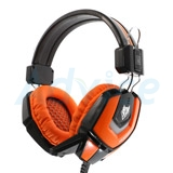 Headset NUBWO NO 4000 (Black/Orange)