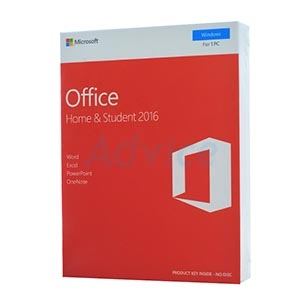 Microsoft Office Home & Student 2016 (FPP) 79G-04679