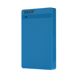 Enclosure 2.5'' SATA OKER 2526 (Blue)
