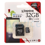 Micro SD 32GB Kingston (SDC10G2  Class 10)