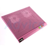 Cooler Pad N-3C (2Fan) Pink