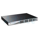 Switching Hub D-LINK (DES-1210-28P) 24 Port with PoE + 4 Port Gigabit + 2 Port SFP (17