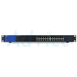 Gigabit Switching Hub LINKSYS (LGS124P-AP) 24 Port (12 Port PoE) (17'')