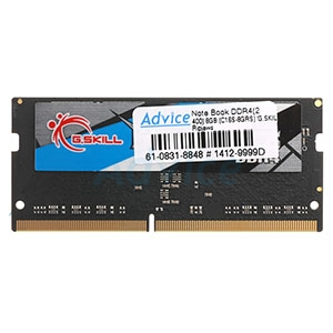 RAM DDR4(2400  NB) 8GB. (C16S-8GRS) G.SKILL Ripjaws
