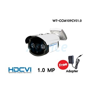 CCTV 3.6mm HDCVI WORLDTECH#CCM109