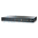 Switching Hub CISCO SF200-24 (SLM224GT-EU) 24 Port + 2 Port Mini-GBIC (17