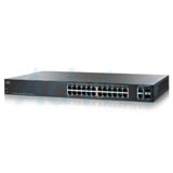 Gigabit Switching Hub CISCO SG200-26 (SLM2024T-EU) 24 Port + 2 Port Mini-GBIC (17