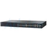 Gigabit Switching Hub CISCO SG300-28 (SRW2024-K9-EU) 26 Port + 2 Port SFP (17