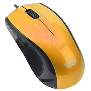 USB Optical Mouse MD-TECH (MD-64) Yellow/Black