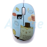 USB Optical Mouse 45 DEGREE (F-55) Blue