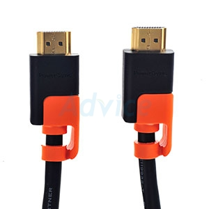 Cable HDMI 3D 4K (V.2.0) M/M (1.8M) GOLD PowerSync