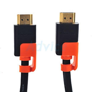 Cable HDMI 3D 4K (V.2.0) M/M (5M) GOLD PowerSync