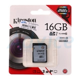 SD Card 16GB Kingston (SD10VG2  Class 10)