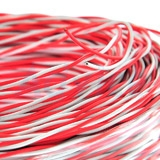Jumper Wire Cable (100m/Box) LINK (UL-0002) White-Red 2 CORE Original