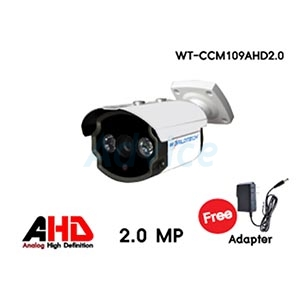 CCTV 3.6mm AHD WORLDTECH#CCM109-2.0