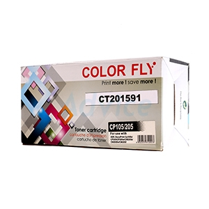 Toner-Re FUJI-XEROX CT201591 BK - Color Fly