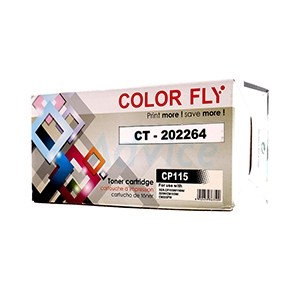 Toner-Re FUJI-XEROX CT202264 BK - Color Fly