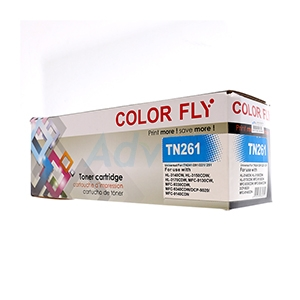 Toner-Re BROTHER TN-261 C - Color Fly