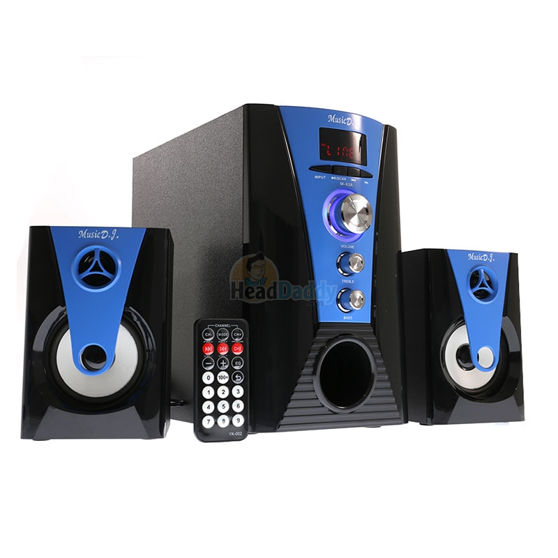 2 1 music d j bluetooth m x3a blue. Black Bedroom Furniture Sets. Home Design Ideas