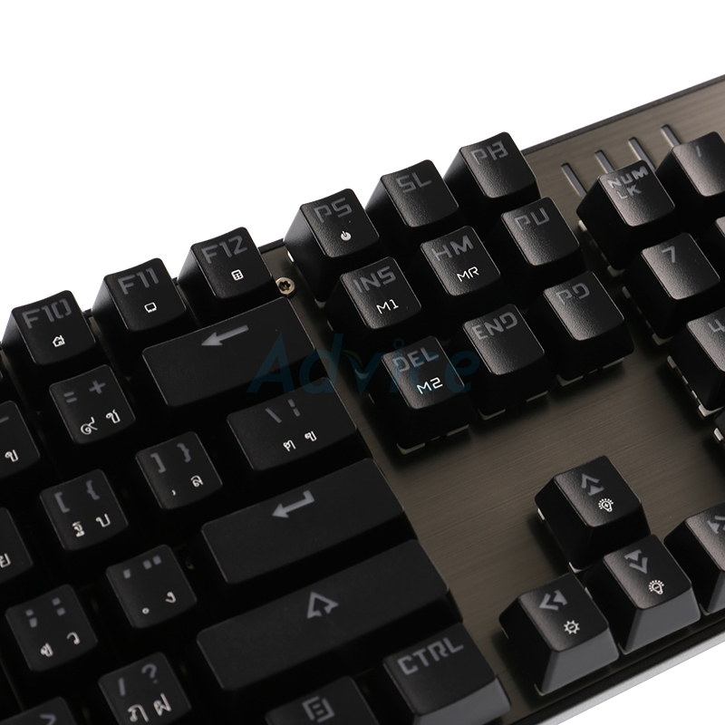 KEYBOARD OKER K84 RGB Black