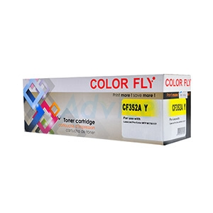 Toner-Re HP 130A-CF352A Y - Color Fly
