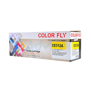 Toner-Re HP 126A-CE312A Y - Color Fly