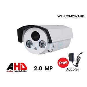 CCTV 3.6mm AHD WORLDTECH#CCM202