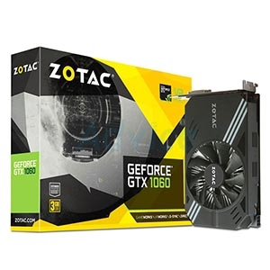 3GB GDDR5 GTX1060 Zotac Single Fan