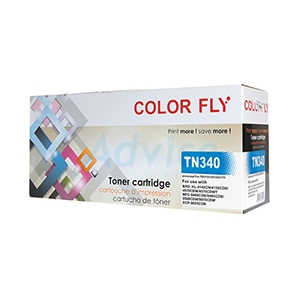 Toner-Re BROTHER TN-340 C - Color Fly
