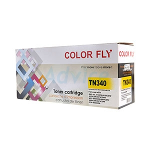 Toner-Re BROTHER TN-340 Y - Color Fly