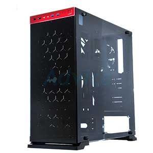 ATX Case (NP) IN WIN 805 (Black-Red)