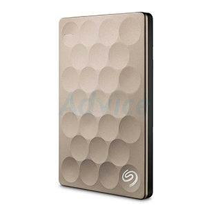 1 TB Ext 2.5'' Seagate Backup Plus Ultra Slim (Gold,STEH1000301)