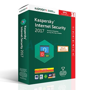 Kaspersky Internet Security 2017 (1Desktop)