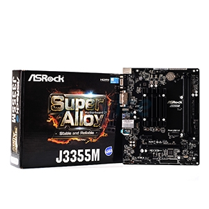 ASROCK J3355M + CPU CELERON DUAL-CORE UP TO 2.5GHZ