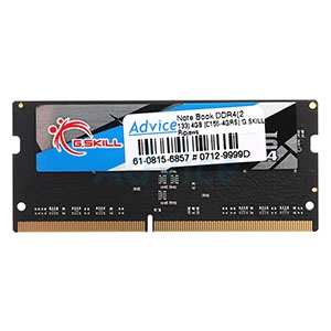 RAM DDR4(2133  NB) 4GB (C15S-4GRS) G.SKILL Ripjaws