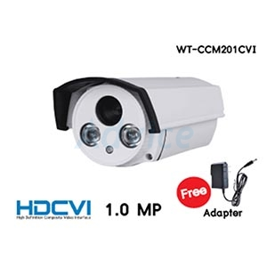 CCTV 3.6mm HDCVI WORLDTECH#CCM201