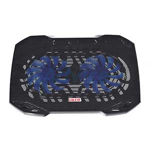 Cooler Pad HVC-393 (2 Fan) Black