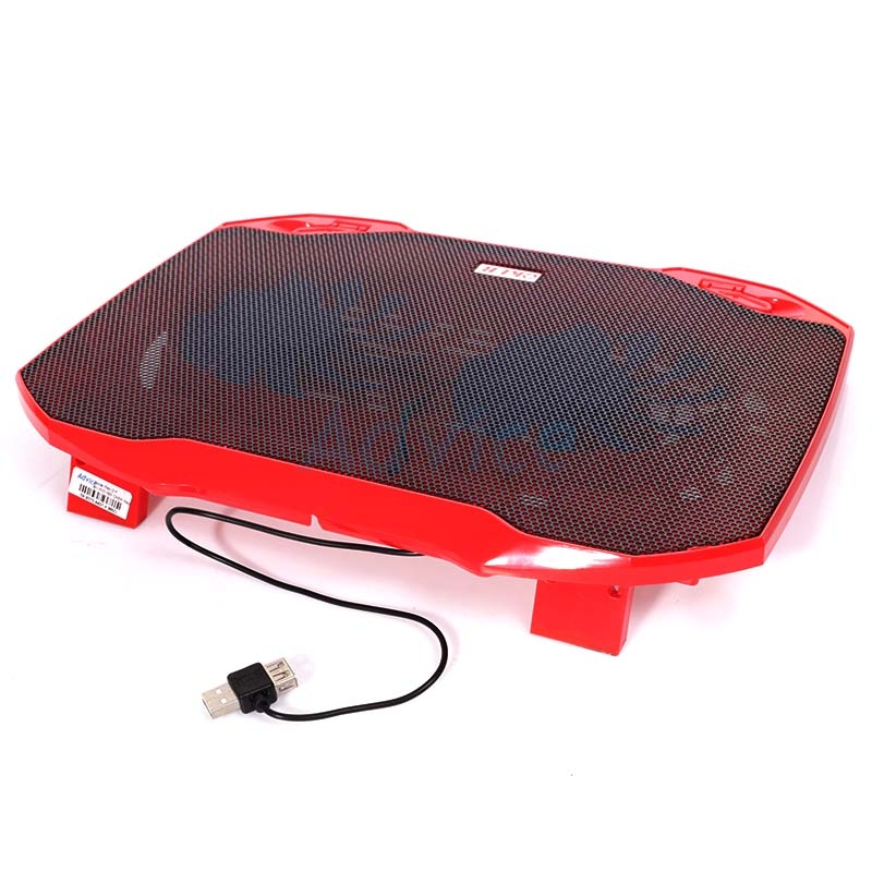 Cooler Pad HVC-393 (2Fan) Red OKER