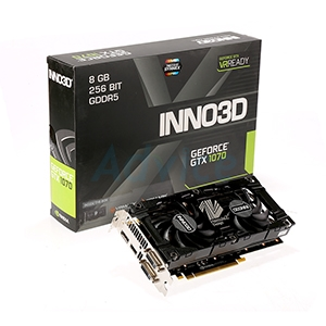 8GB GDDR5 GTX1070 inno3D Twin X2