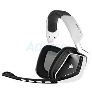 HEADSET (7.1) CORSAIR Void RGB Wireless (White)