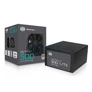 (80Plus) COOLER MASTER Watt Lite 500W.