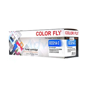 Toner-Re HP 128A-CE321A C - Color Fly