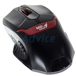 USB Optical Mouse MD-TECH (MD-59) Black/Red